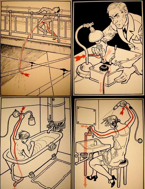 心动触电创意海报