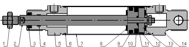 结构特点:   1.气缸缸体采用日本京都精管株式会社高精度不锈钢管。   2.活塞杆表面选用预先滚压硬化处理,经镀硬铬、精磨处理,有良好的防锈、耐磨等特性。   3.密封件选用德国派克汉尼汾产品,可在无给油润滑情况下工作,起动压力低,寿命长。   4.可内置磁环,磁性开关配置D-C73。 型号选择:   QGX 2 Nn 25  100 A LB Y DX R   QGX-不锈钢微型气缸   2-派生气缸代号:2=双活塞杆。无省略   Nn -内置磁环:N=内置磁环;n=磁性开关数量。无省略   25-气