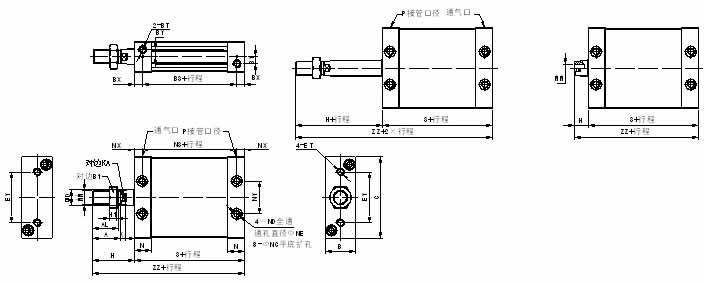 椭圆低通滤波器电路