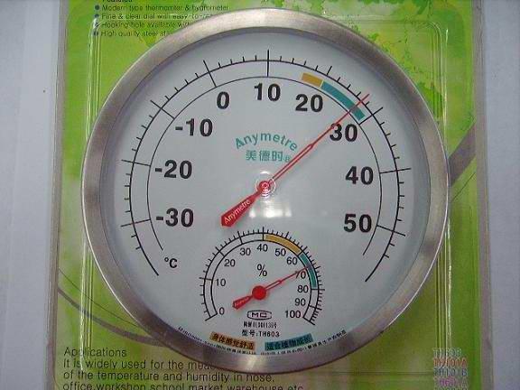 美德时指针温湿度计