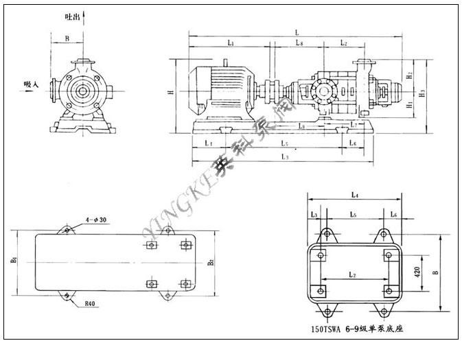 电动机多级顺序启动控制电路图