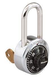 密码挂锁(带钥匙超控)