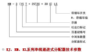 KJ单线递进式分配器