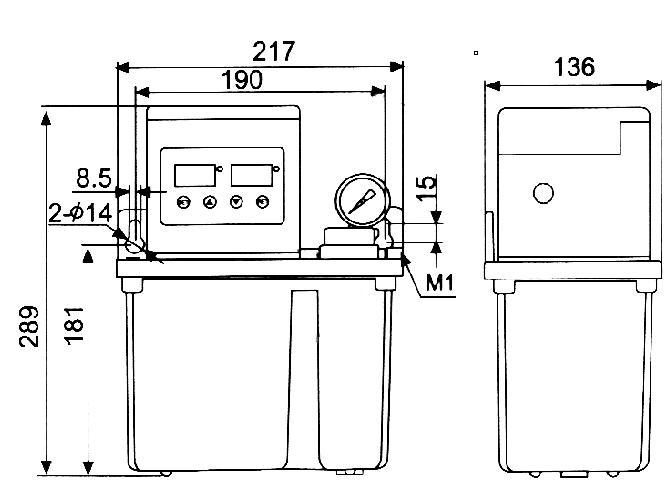 GK-A200II电动润滑泵
