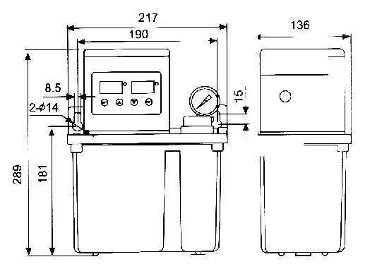 GK-B200II电动润滑泵