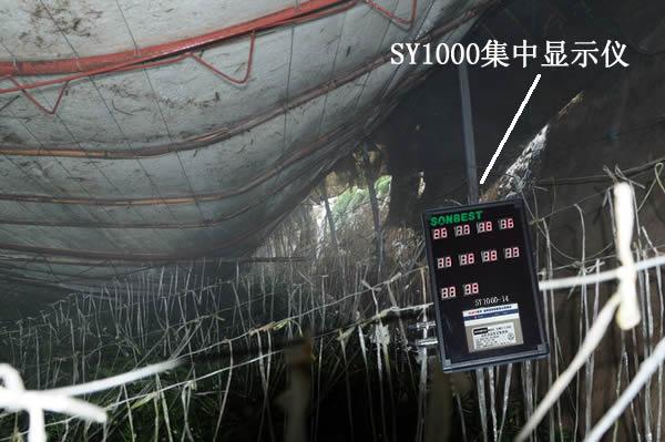 蔬菜大棚温度控制系统