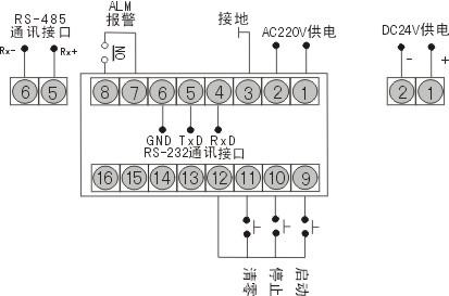 hr-wp-tc系列定时/计时显示控制仪(虹润仪表) hr-wp-tc