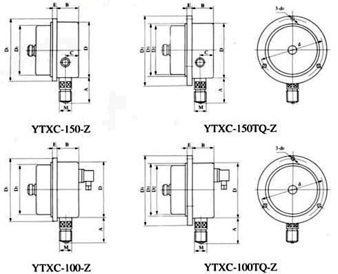 防水接线盒 x14k4p 防水接线盒 x14k4p 不锈钢耐震电接点压力表使用