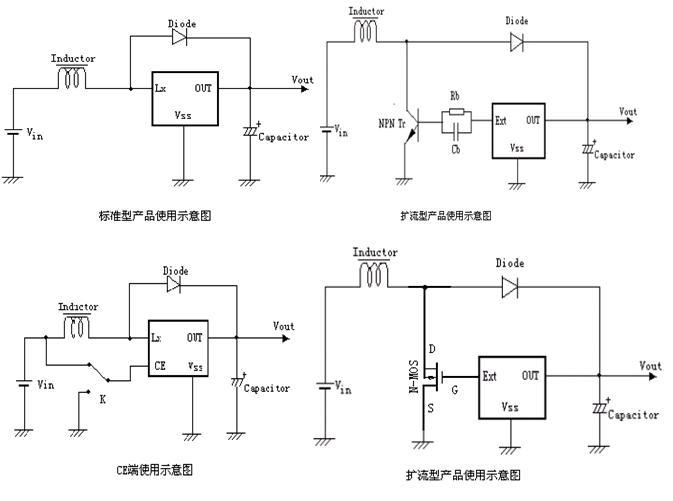 集成电路(ic)-供应升压dc/dc转换器