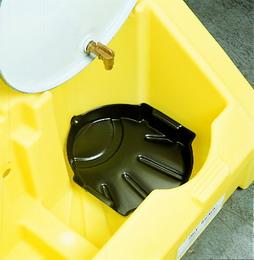 油桶盛漏分装转运车