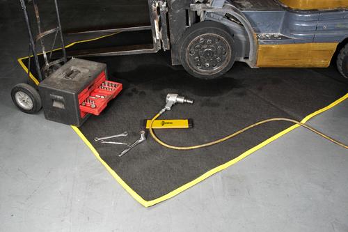 防滴漏维修地毯