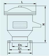QFQ-1.2.3型全天候呼吸閥