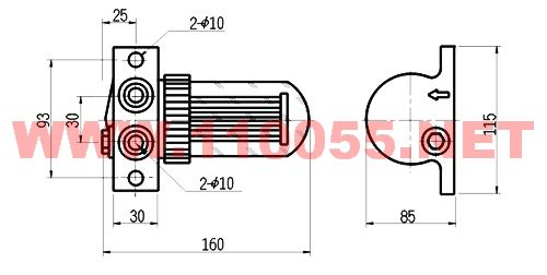 x60磁性过滤器用于精密机床中主轴箱等润滑油的过滤
