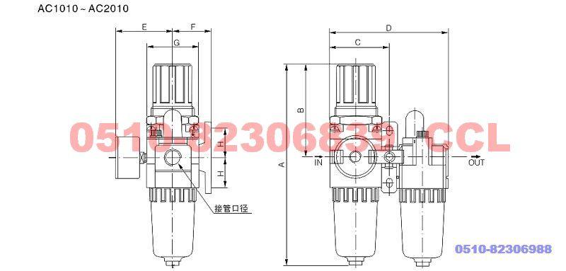 JAC4010-04D  JAC4010-06D   JAC5010-06D  JAC5010-10D   二联件(老款)