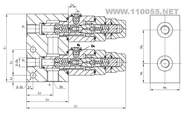 SXYF-L10 SXYF-L15  卸荷溢流阀组