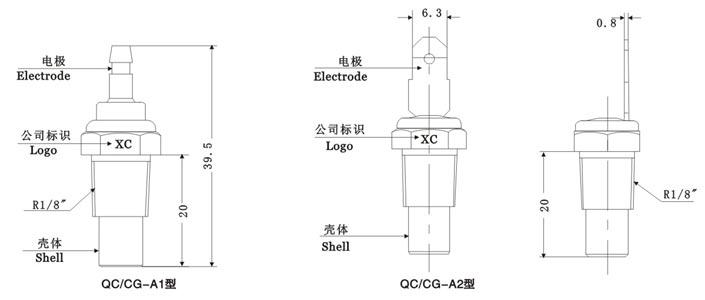 产品库 汽车水温传感器qc-cg系列 qc-cg  产品原理及功能: cg系列是为