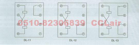 dl-11 dl-12 dl-13 电流继电器