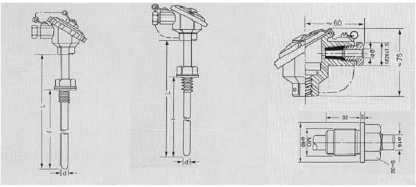 热电阻,热电偶一体化温度变送器