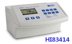 哈纳(HANNA)HI83414高精度多量程多用途浊度/余氯/总氯分析测定仪