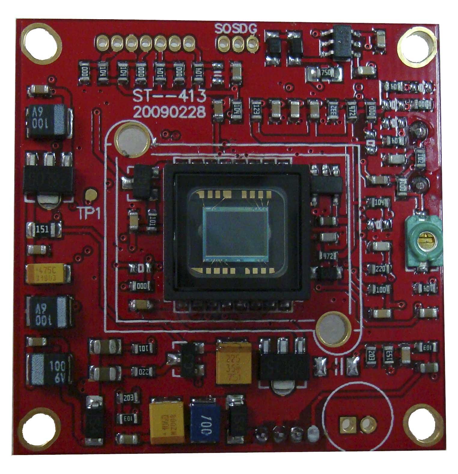 亚博视监控摄像机ccd板机abs-3203c