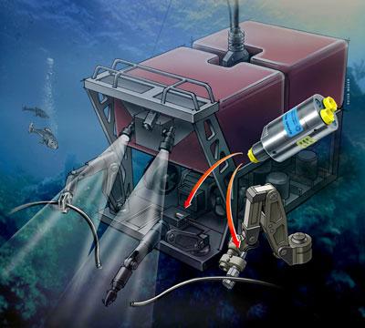 照片:离岸海底应用。